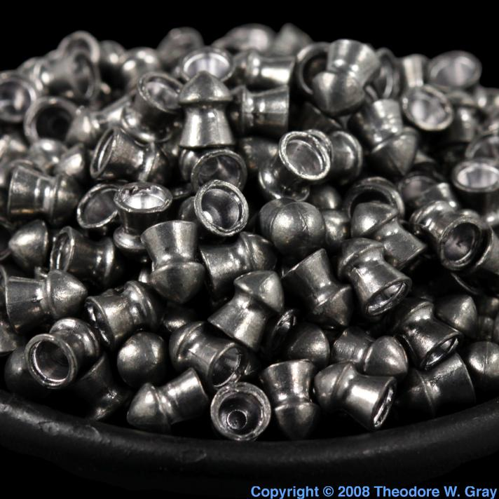 Lead Lead BB gun pellets