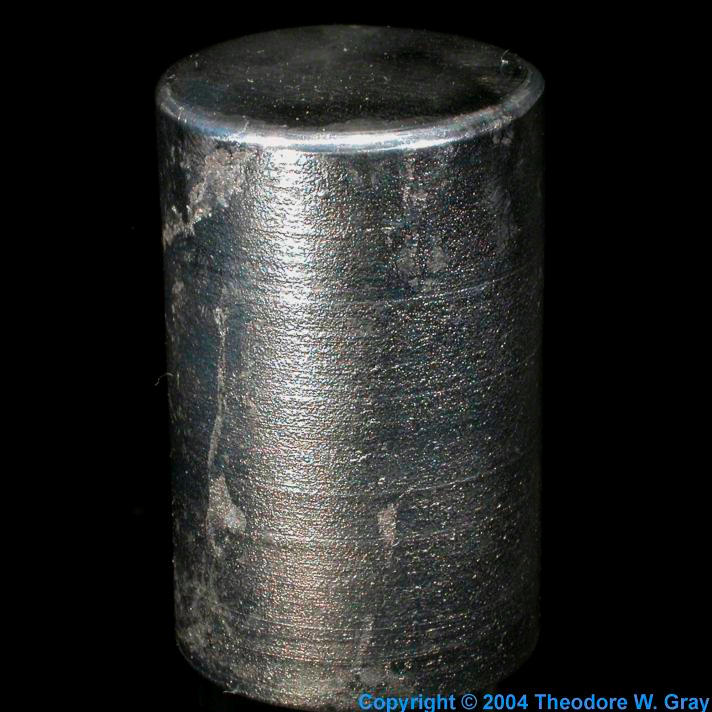 Lead Cast lead cylinder 1