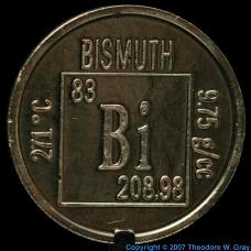 Bismuth Element coin
