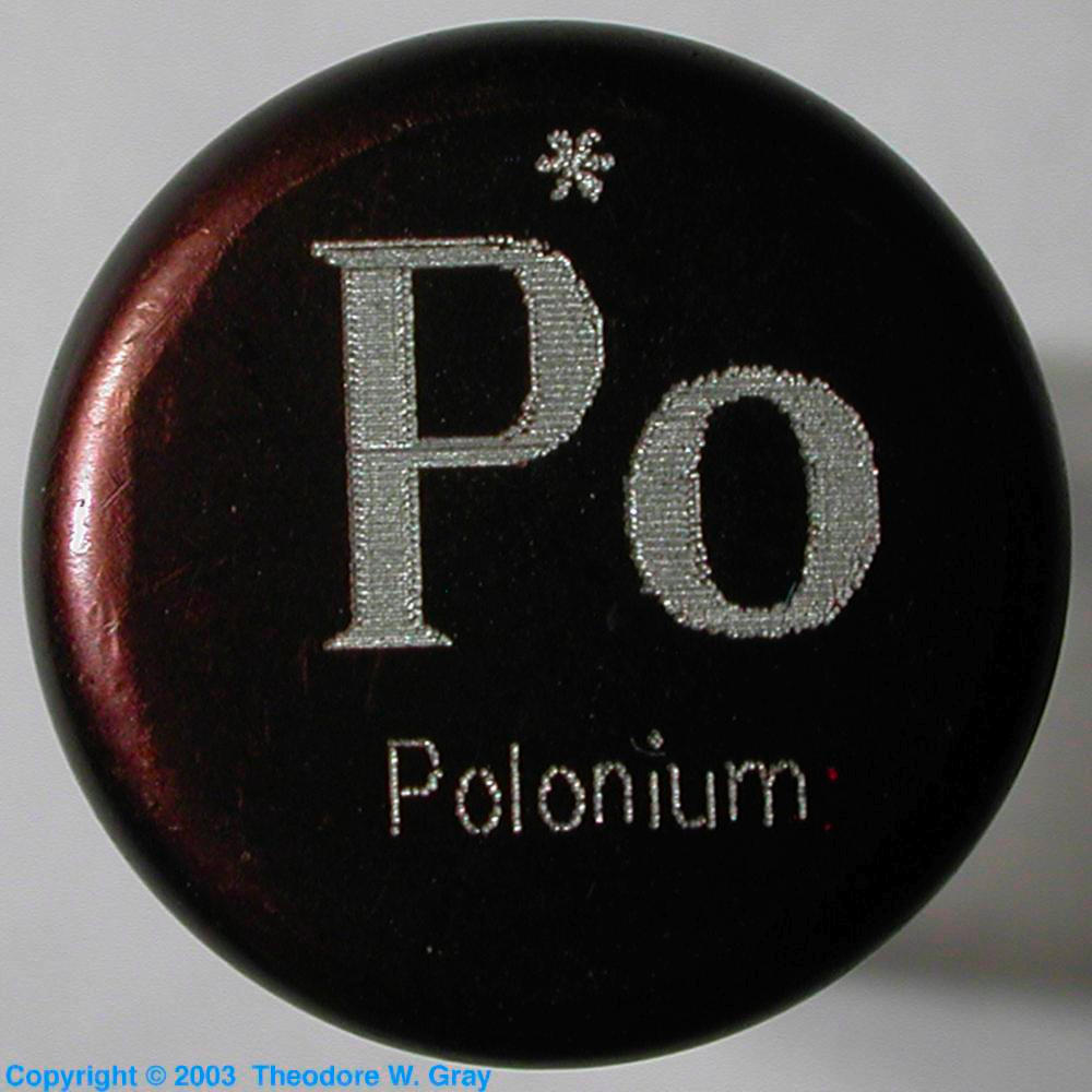 Sample from the everest set a sample of the element polonium in polonium sample from the everest set gamestrikefo Gallery