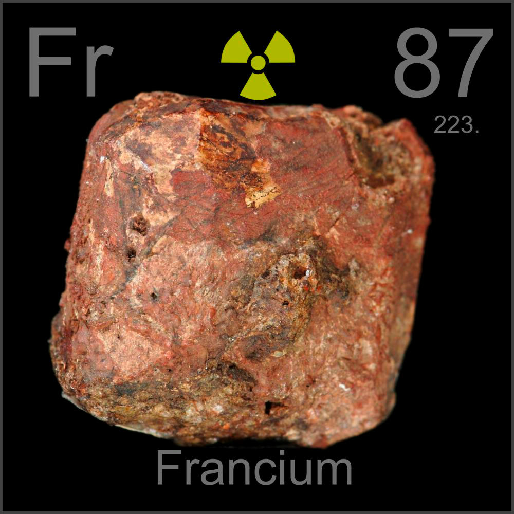 Pictures Stories And Facts About The Element Francium In The