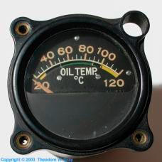 Radium Oil temperature gauge luminous dial