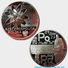 Radium Polish Coin