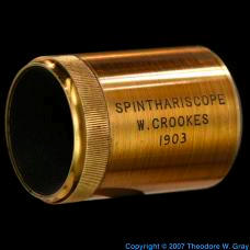 Radium 1903 Crookes Spinthariscope