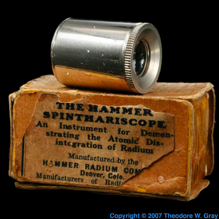 Radium The Hammer Radium Spinthariscope