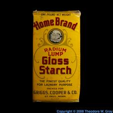 Radium Radium NOT starch