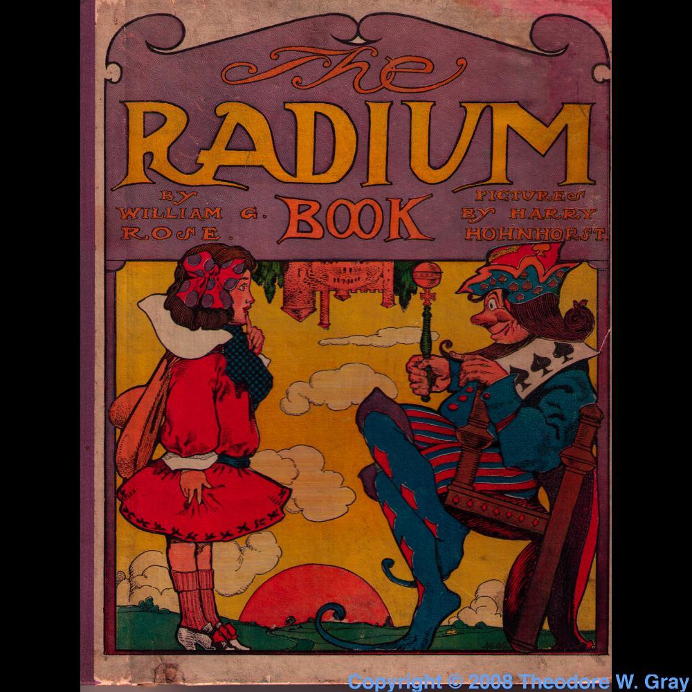The radium book a sample of the element radium in the periodic table radium the radium book gamestrikefo Image collections