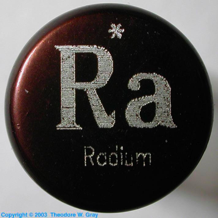 Radium Sample from the Everest Set