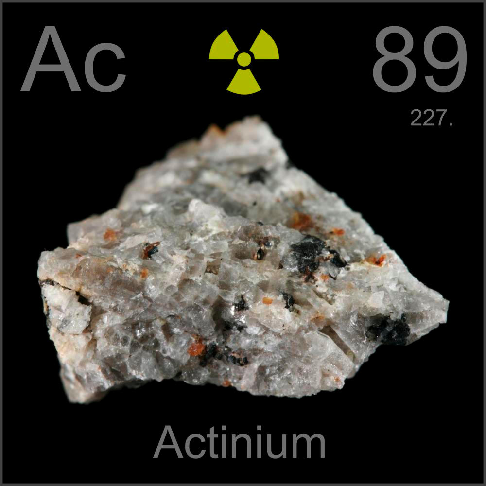 Poster Sample A Sample Of The Element Actinium In The