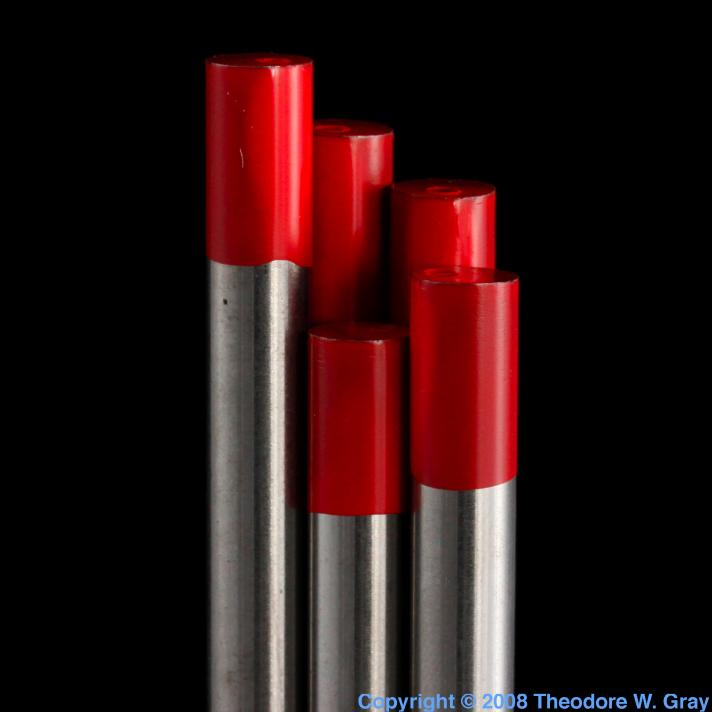 Thorium Thoriated tungsten welding rod