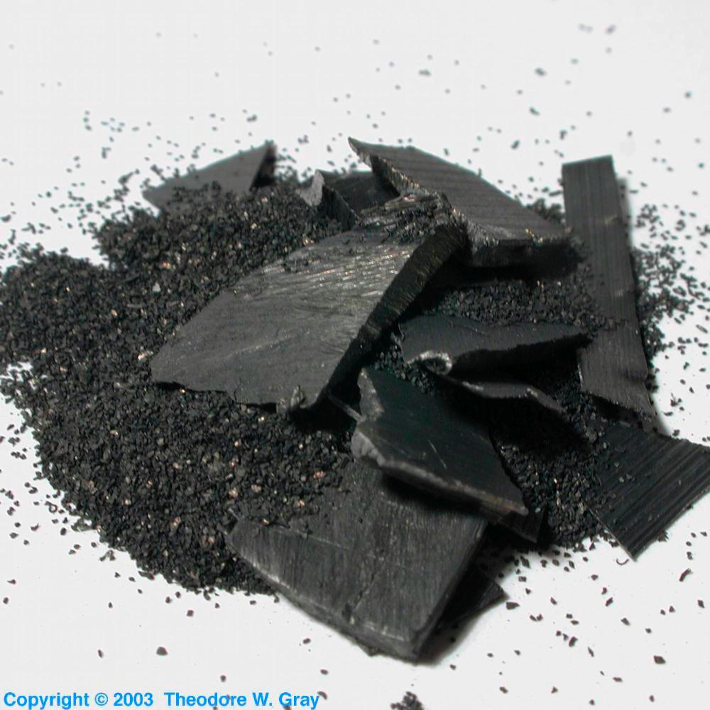 Scary stuff, a sample of the element Thorium in the Periodic