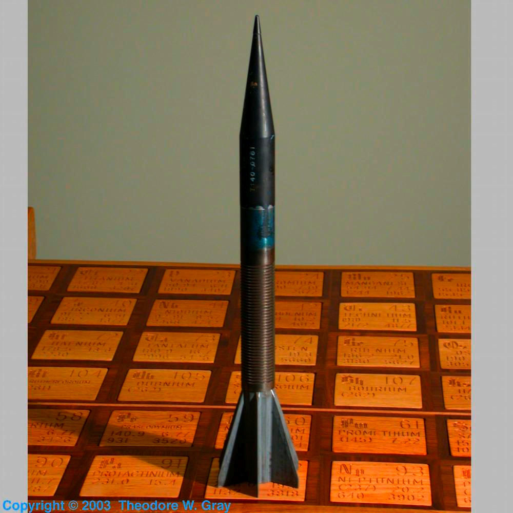 M-735 Tank penetrating munition, a sample of the element