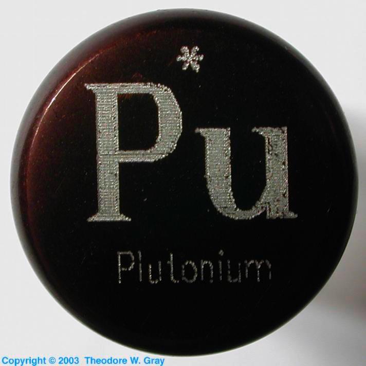 El plutonio como solo yo te lo puedo mostrar