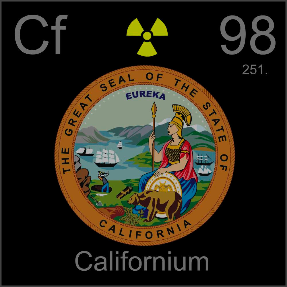 Poster sample a sample of the element californium in the periodic californium poster sample gamestrikefo Images