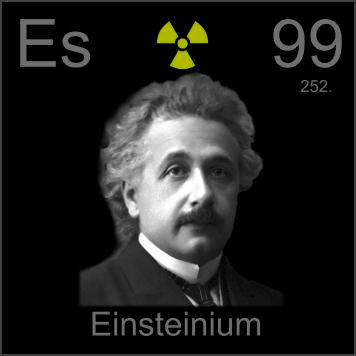 Pictures stories and facts about the element einsteinium for 99 periodic table