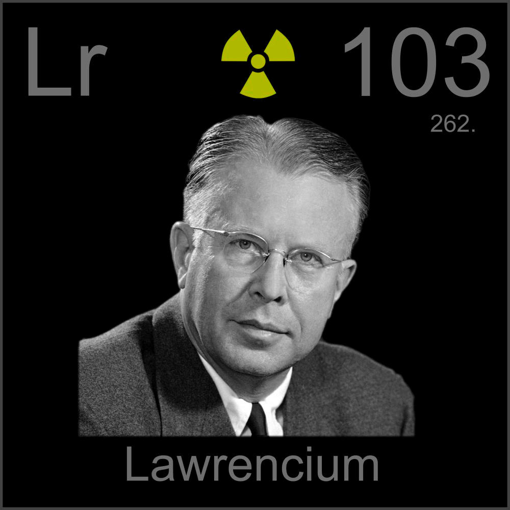 an introduction to the chemical element lawrencium Lawrencium is a radioactive synthetic chemical element, which is also known as a period 6 d-block element it is similar to lutetium in composition and to the other elements of the actinide series.