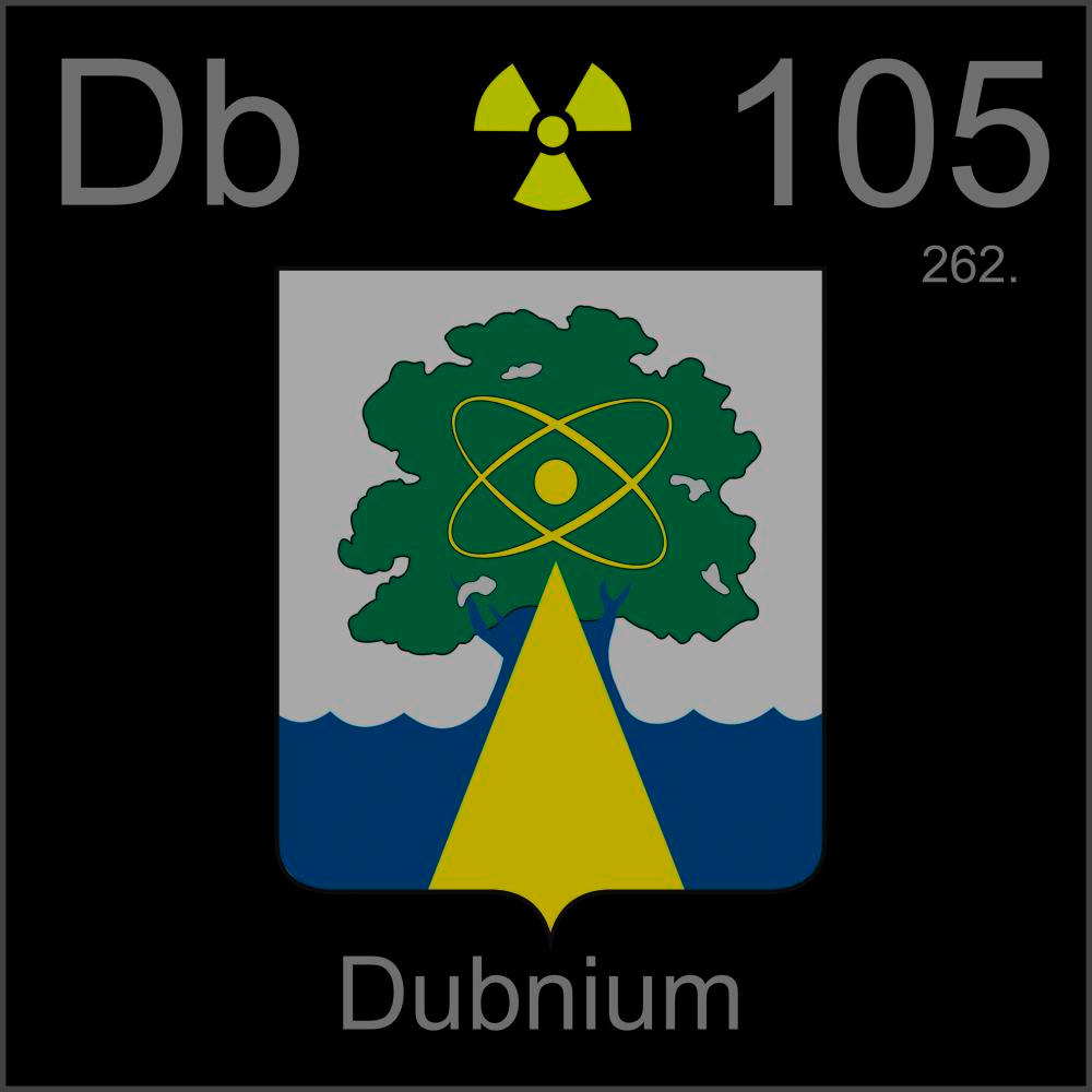 poster sample a sample of the element dubnium in the