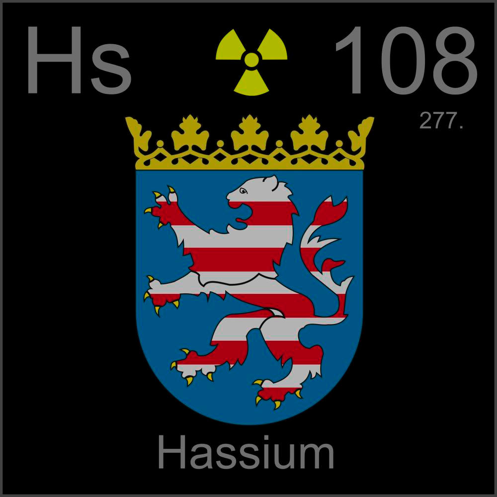 poster sample a sample of the element hassium in the