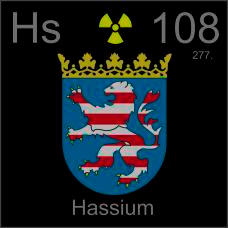Hassium Poster sample