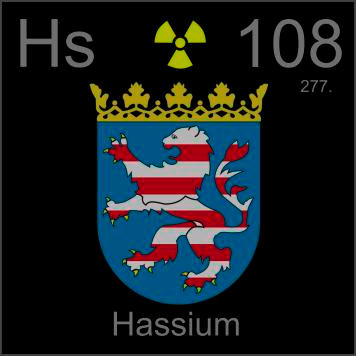 pictures stories and facts about the element hassium in