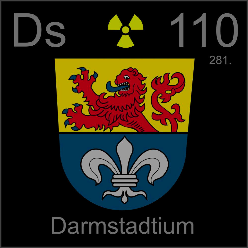 An example of the element DarmstadtiumDarmstadtium Element