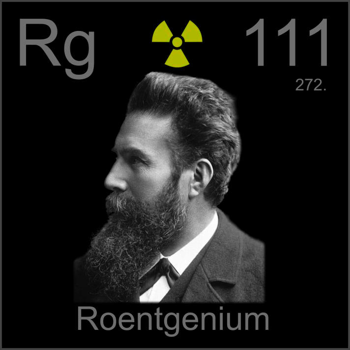 Roentgenium Poster sample