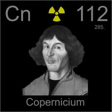 Copernicium Poster sample