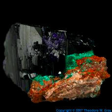 Copper Azurite.