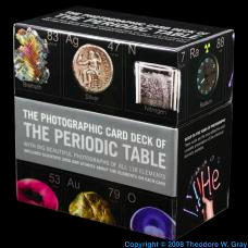 Strontium Photo Card Deck of the Elements