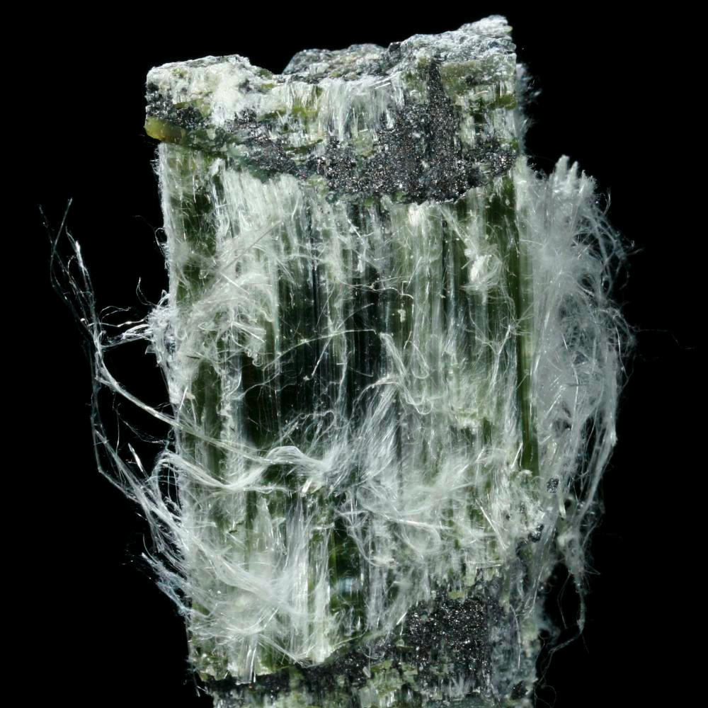 Chrysotile Asbestos A Sample Of The Element Silicon In