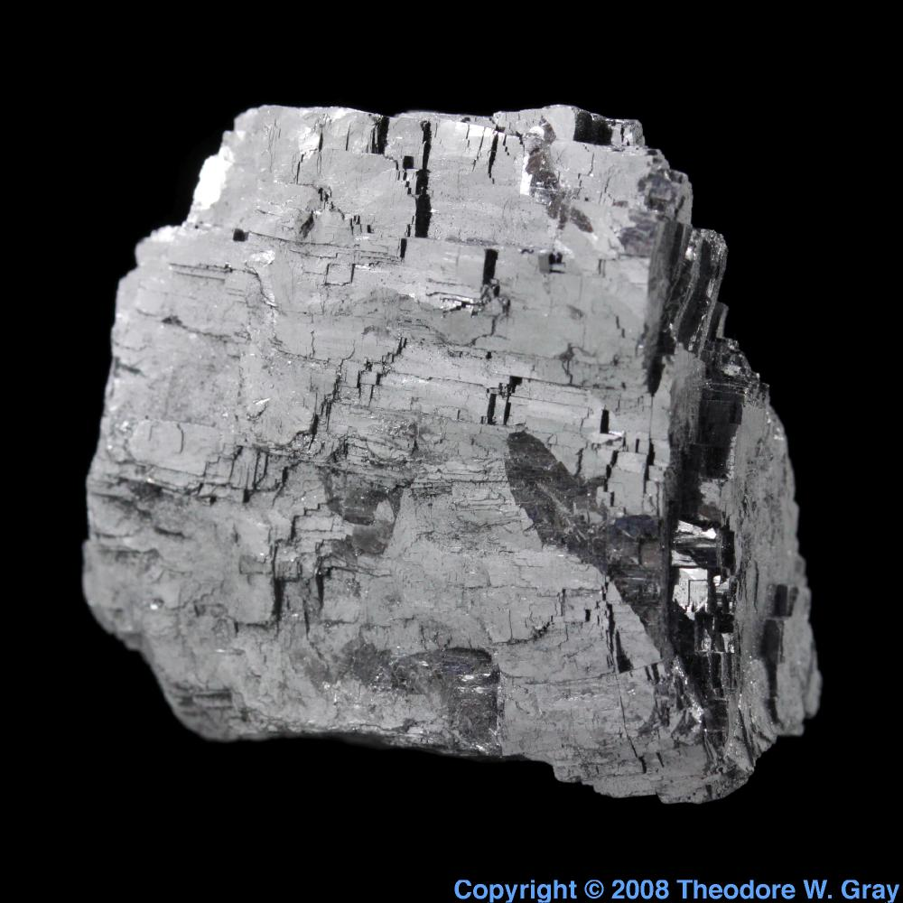Galena  I Think  A Sample Of The Element Lead In The