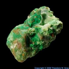 Oxygen Garnierite from Jensan Set