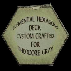 Carbon Custom Elemental Hexagon Cards