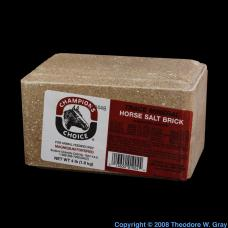 Sodium Magnesium-fortified horse salt brick