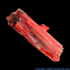 Oxygen Crocoite from Jensan Set
