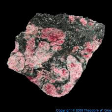 Zirconium Eudialyte from Jensan Set