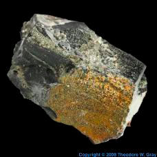 Sulfur Greenockite from Jensan Set