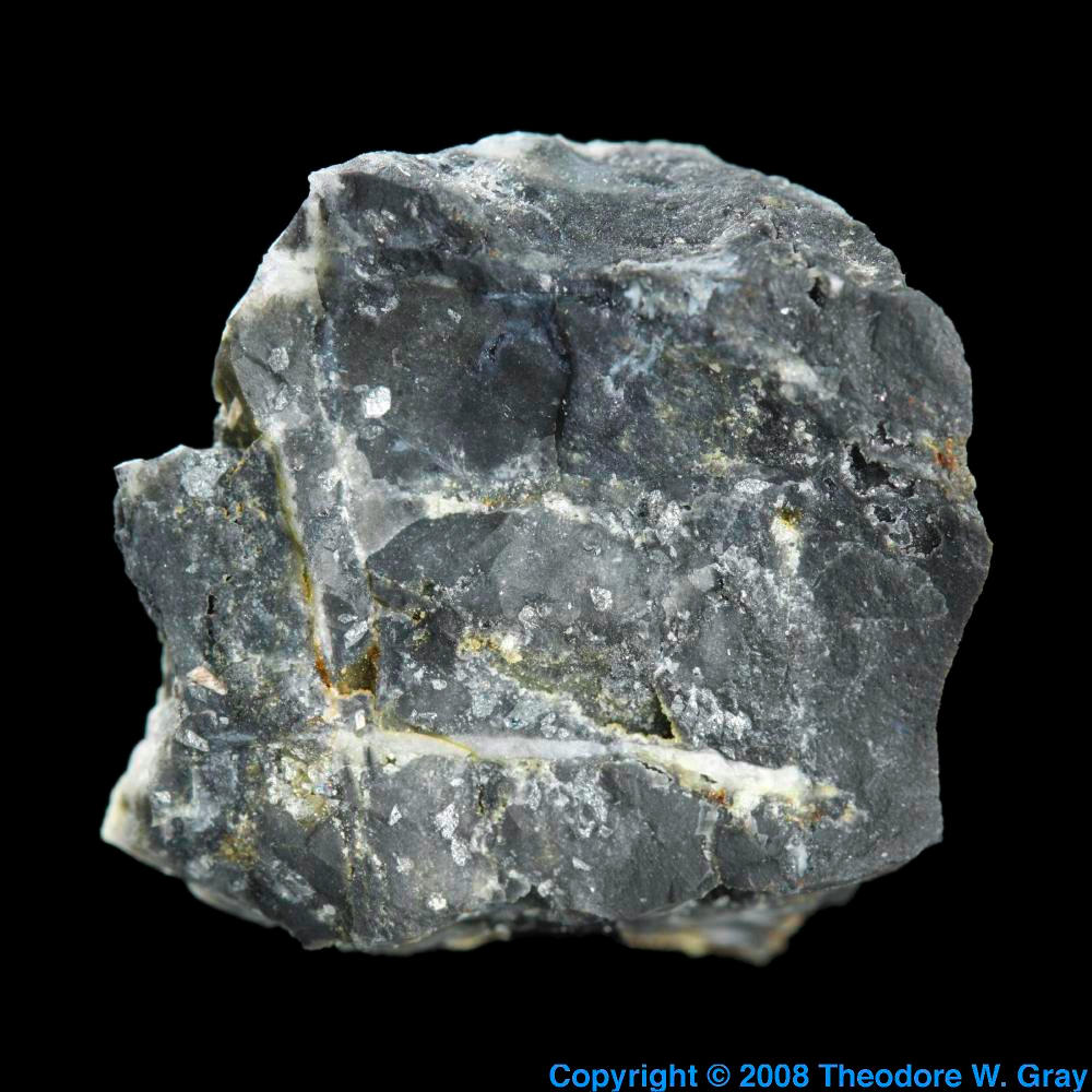 Weissbergite from Jensan Set, a sample of the element ...