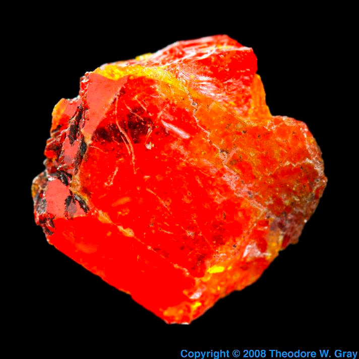Lead Wulfenite from Jensan Set