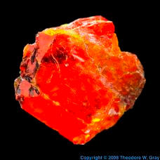 Oxygen Wulfenite from Jensan Set