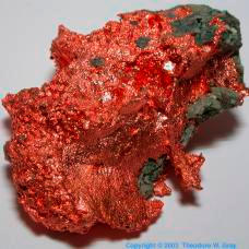 Copper Native Copper, Caledonia Mine