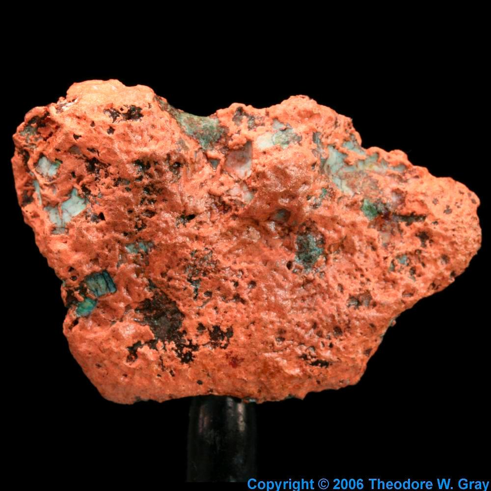 Random Native Copper A Sample Of The Element Copper In