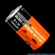 Manganese Ni-Cad battery