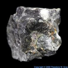 Silver Platiniferous Pyroxenite