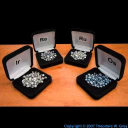 Pictures, stories, and facts about the element Osmium in ...