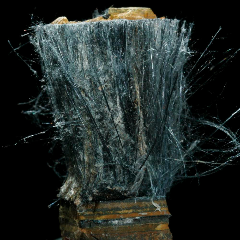 Riebeckite Asbestos A Sample Of The Element Iron In The