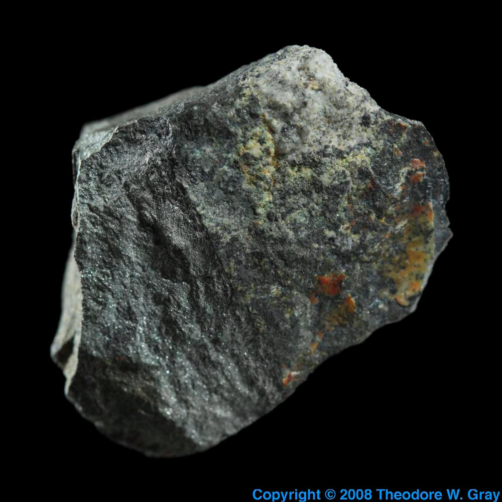 Native Antimony A Sample Of The Element Antimony In The