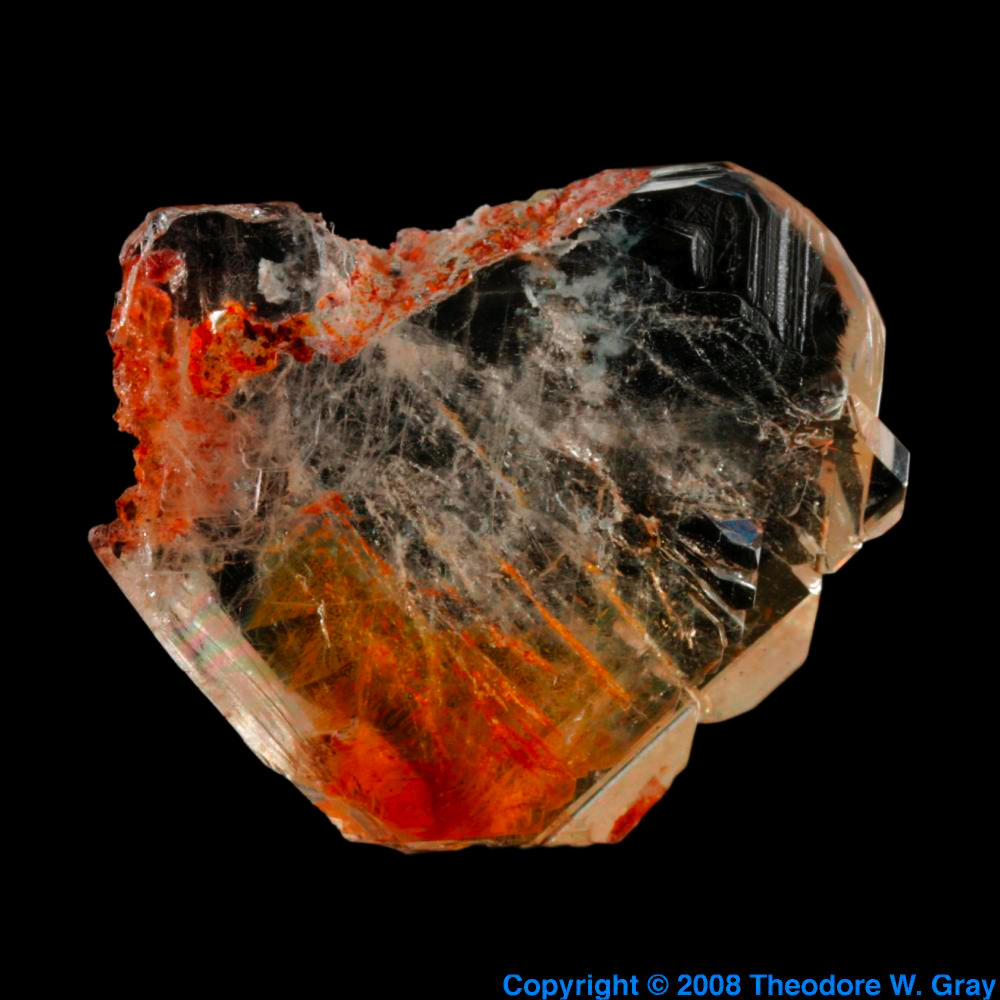 Baryte a sample of the element barium in the periodic table barium baryte gamestrikefo Image collections