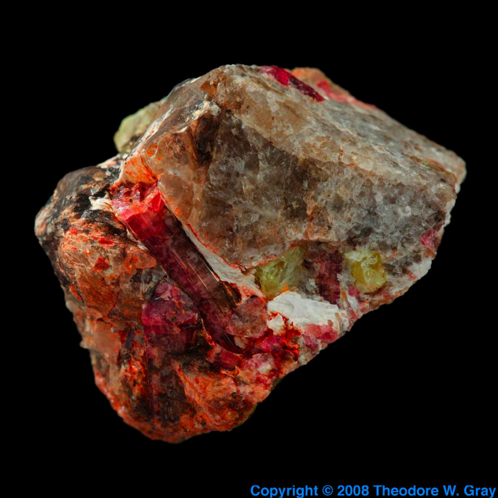 pictures stories and facts about the element rubidium in the