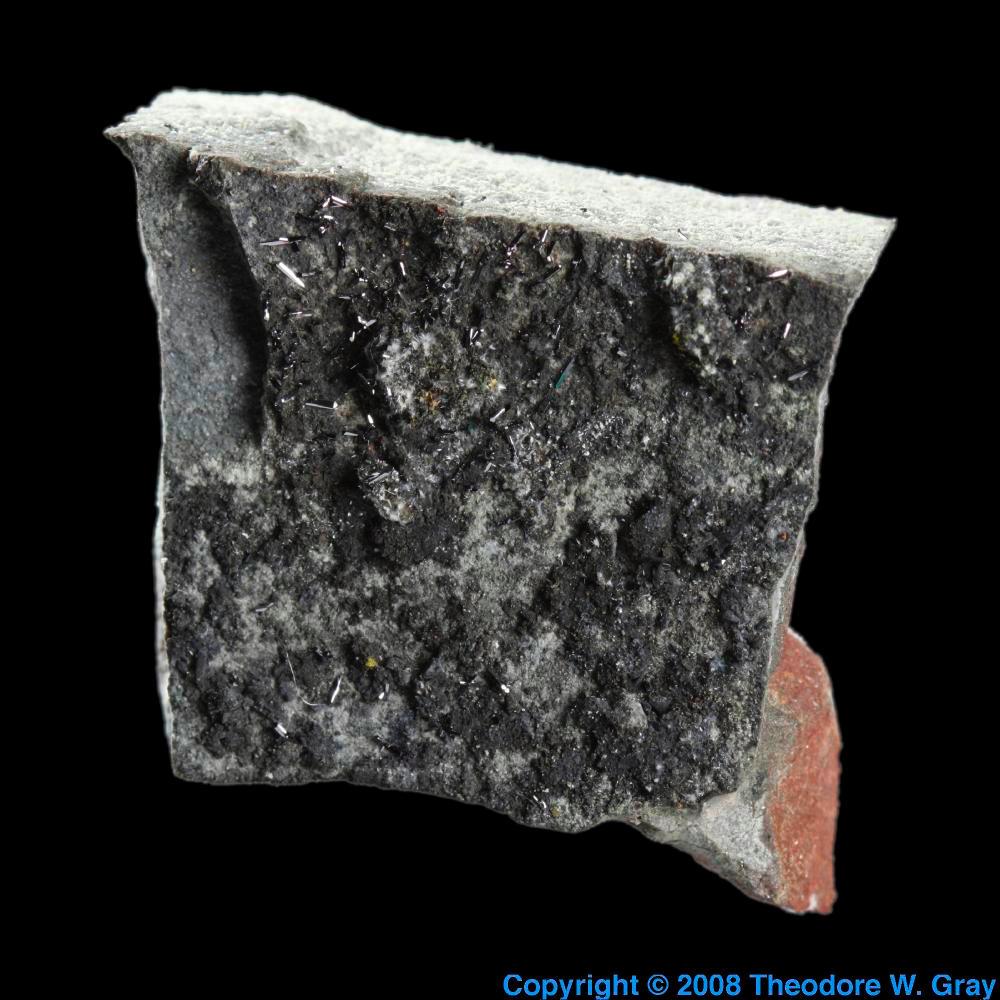 Native Selenium A Sample Of The Element Selenium In The